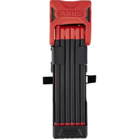 ABUS Bordo 6000/90 SH Zapięcie rowerowe czerwony/czarny